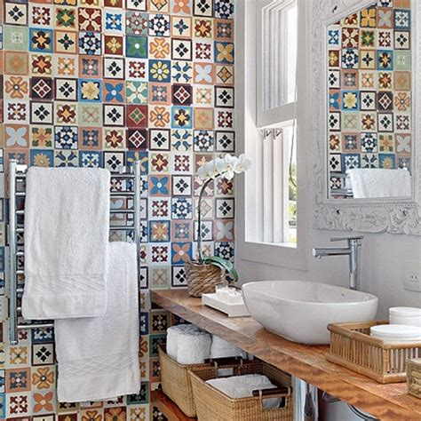 Funky Bathroom Ideas by Funky Bathroom Tile Ideas Home Is Wherever I M With You