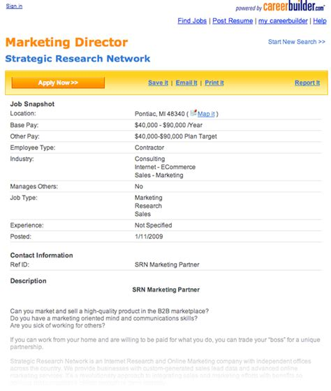 job postings resume cv template examples