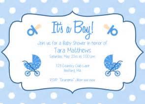 Free Printable Baby Shower Invitations Templates Boys