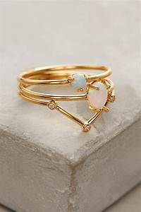 opalescent stacking rings anthropologie With anthropologie wedding rings