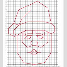 Santa Coordinate Graphing Activity From Super Teacher Worksheets  School  Pinterest Graphing
