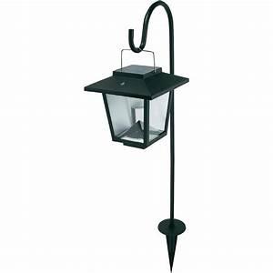 Lampe De Jardin : lampe de jardin solaire blanc chaud noir vente lampe de jardin solaire blanc chaud noir sur ~ Teatrodelosmanantiales.com Idées de Décoration