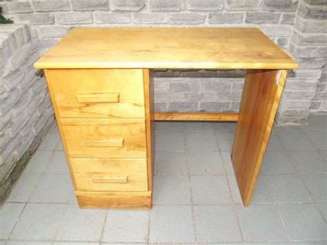Small Wood Desk by Solid Wood Study Desk Secondhand Pursuit