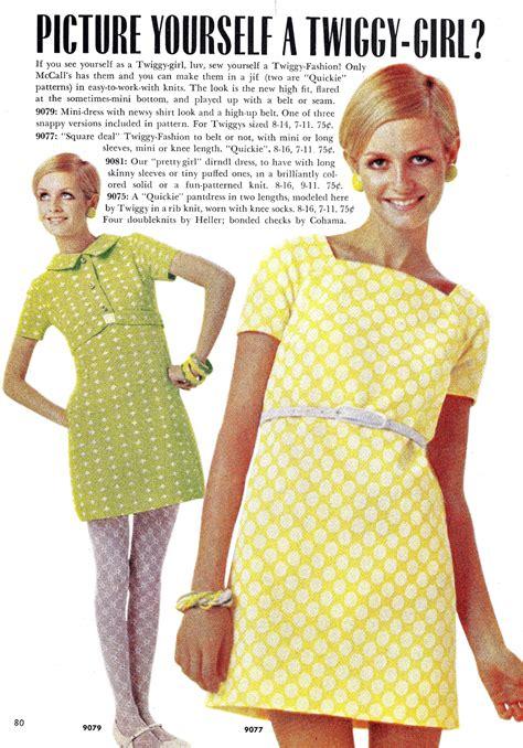 color   twiggy mod vintage magazine  fashion
