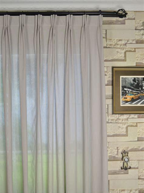Curtains Drapes - qyk246sba eos linen gray black solid versatile pleat sheer