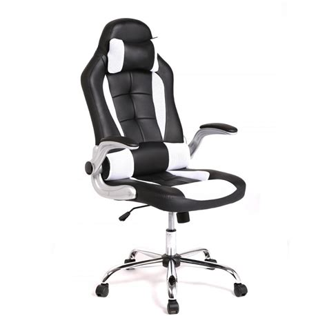 new high back race car style seat office desk chair