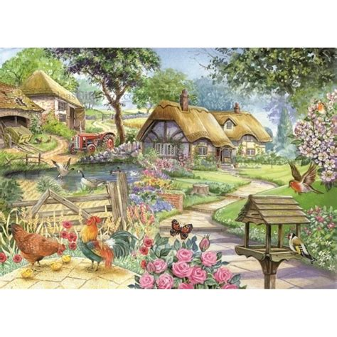 Country Living  Brampton Collection 500 Big Piece Puzzle