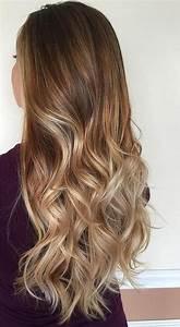 Ombré Hair Marron Caramel : ombre hair couleurs cheveux tendance automne hiver 2018 ~ Farleysfitness.com Idées de Décoration