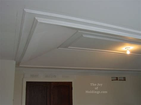 Adding Tray Ceiling by How To Install Molding Trim On Tray Ceiling The Of