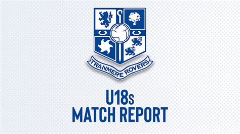 U18s lose 2-1 at Salford in FA Youth Cup - News - Tranmere ...