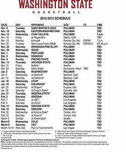Cougars announce 2012-13 men's basketball schedule | WSU ...