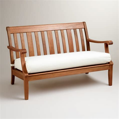cushions for benches st martins occasional bench with cushion world market