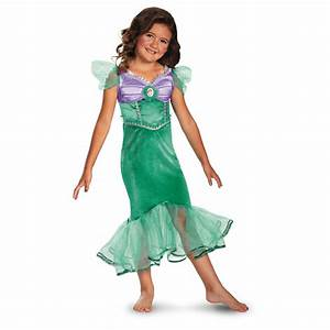 Disney Ariel Costume Little Mermaid Princess Dress Toddler ...