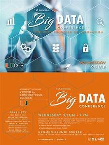 Conference Brochure 1st Annual Ccs Big Data Conference 9 21 2016 Offered