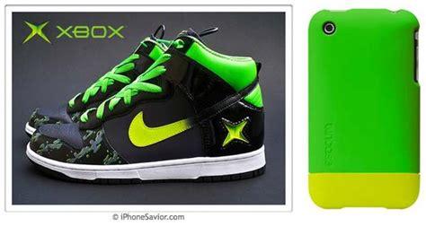 iphone savior  nike xbox sneakers scream kanye west