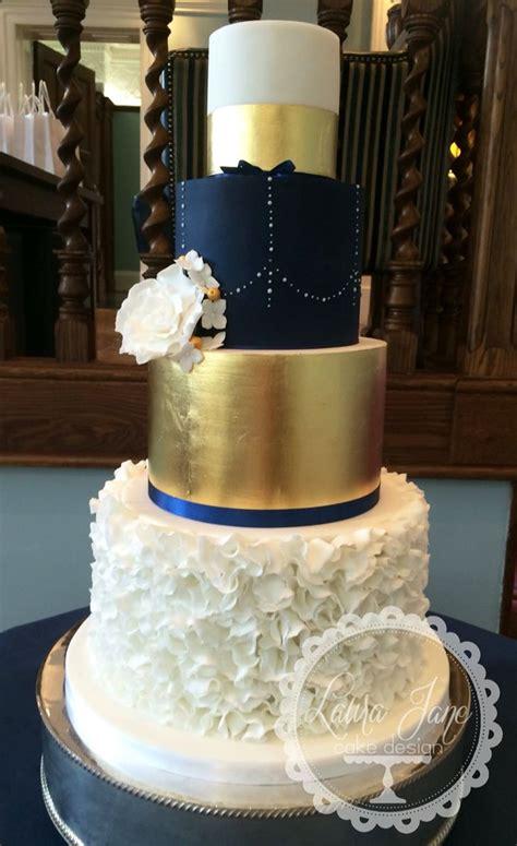 ideas  gold wedding cakes  pinterest