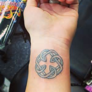 Father Daughter Celtic Symbol Tattoo