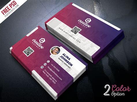 Business Card Template Psd Creative Business Card Template Psd Psd