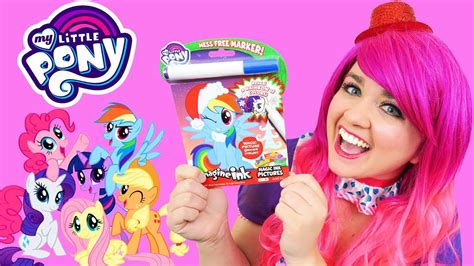 coloring   pony magic ink coloring activity book