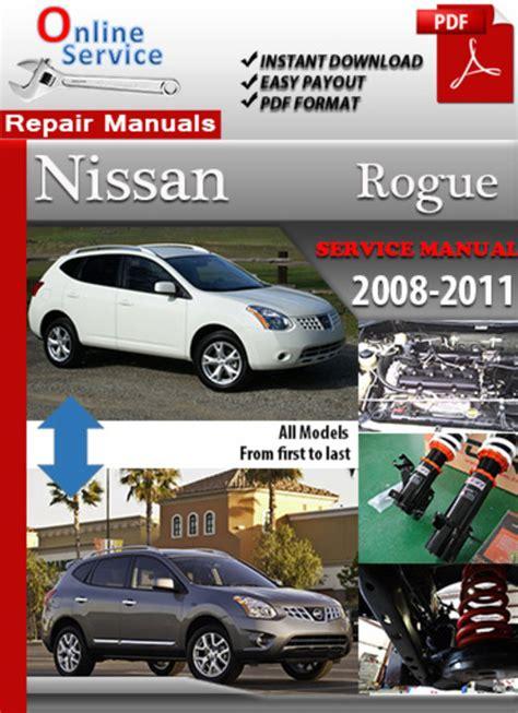 how to download repair manuals 2011 nissan rogue regenerative braking pay for nissan rogue 2008 2011 online service repair manual