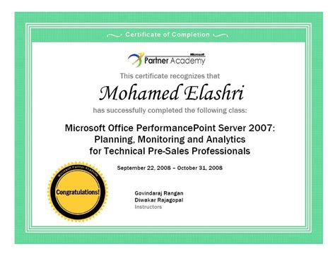 Ms Office Certificate Template by Microsoft Award Templates Formal Award Certificate