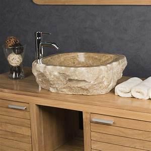 Caillebotis Salle De Bain Avis : vasque poser en pierre d 39 onyx l 40 45 cm ~ Premium-room.com Idées de Décoration