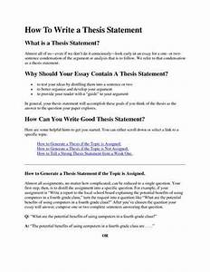 how to make a thesis statement for argumentative essay sample how to make a thesis statement for argumentative essay sample custom dissertation uk