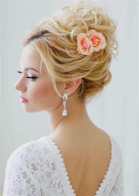 peinados de novia recogidos   tendencias