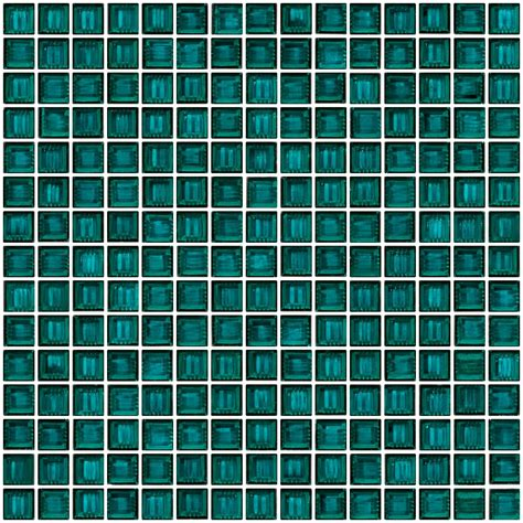 glass tile 3 4 inch emerald teal green glass tile