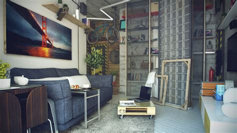 Wohnzimmer Loft Style by Casual Loft Style Living