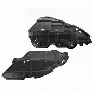 Engine Splash Shield Cover Guard Front Lower Left  U0026 Right Pair For Toyota Camry