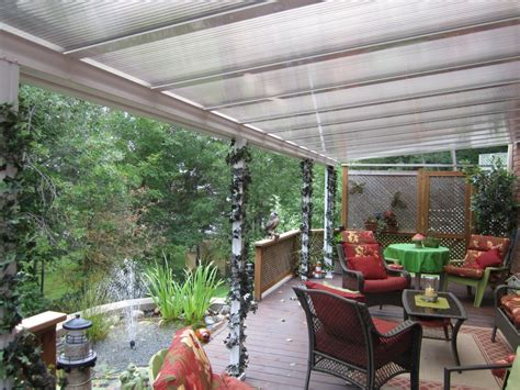 sale on translucent polycarbonate patio covers and sunroom