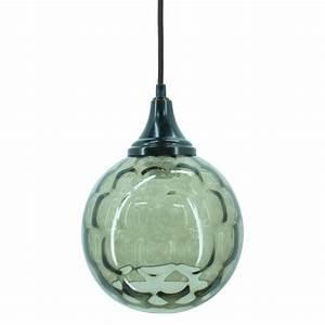 Green blue textured glass pendant kitchen inspiration