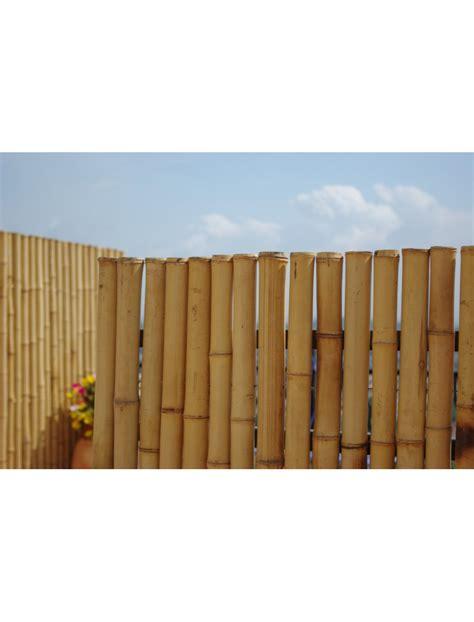 cloture en bambou cloture bambou jardin palissade en bambou naturel
