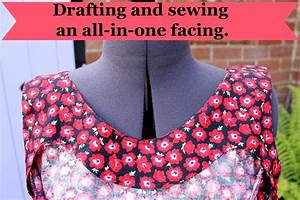 How To Draft An All In One Facing · How To Sew · Sewing on