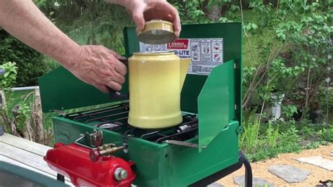 Here is the simple way that describes well how to make coffee in a camping percolator. Coleman Camp Stove brewing coffee with a percolator. - YouTube