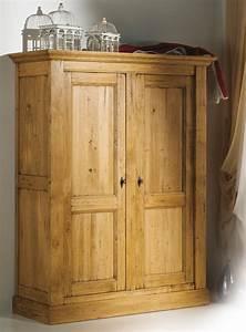 Chambre Bébé Bois Massif : armoire de chambre bois massif ~ Teatrodelosmanantiales.com Idées de Décoration