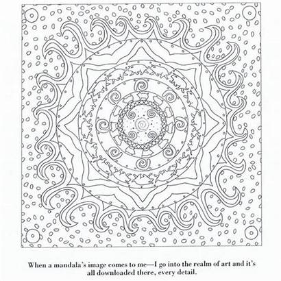 Calm Yourself Mandala Coloring Pages Printable Adult