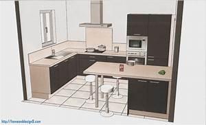 Plan De Cuisine 3d : dessiner cuisine en 3d gratuit 12 logiciel dessin gallery ~ Nature-et-papiers.com Idées de Décoration