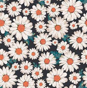 Seamless flower,daisy print pattern background — Stock ...