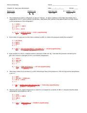 gas laws worksheet answer key doc honors chemistry name chapter 13 gas laws worksheet i date