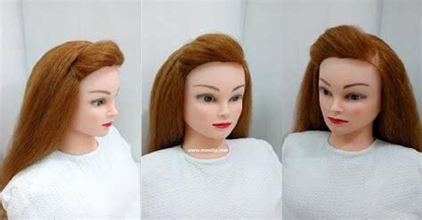 side puff hairstyle  hairspray maxdio