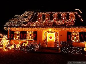 Christmas Decorated Houses Architecture Wallpapers Hd ...