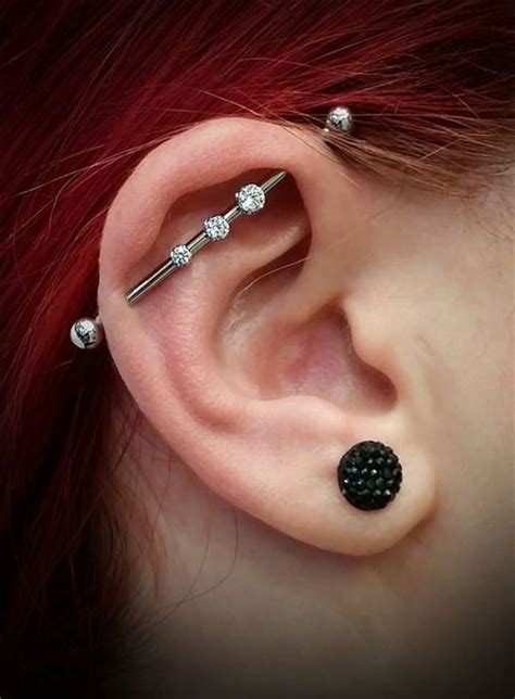 industrial piercing examples jewelry pain cost