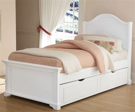 Kids Bed Design Simple Finishing Kids White Twin Bed