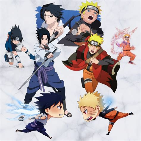 big size cm naruto anime sticker  visual effect