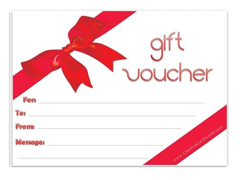 gift voucher templates excel  formats
