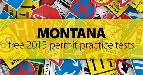 mt permit practice test  spanish  road signs