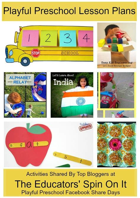 preschool learning activities weekly lesson plan diy 199 | 6c43571146b4b07e37b35fbfb0665321