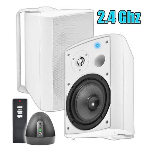 wireless outdoor speakers patio pair osd audio wpa 650